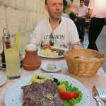 Dalmatian Rib-Eye Steak: Perfect for my taste!