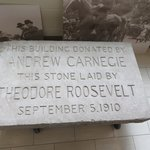 Cornerstone placed by President Theodore Roosevelt