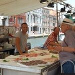 the Guglie again, fish market