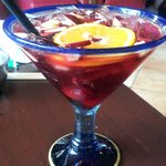 House made sangria (Berry)