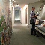 modern art corridor