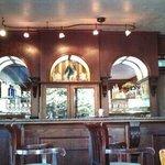 cool hardwood bar