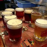 Sampler for $10 (8 beers)