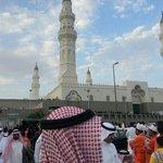 مسجد قباء اثناء صلاة العيد