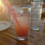 Strawberry Lemonade at Duke's