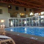 Pool at hotel.