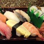 ランチのお寿司