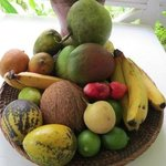 Fruit basket in our cottage