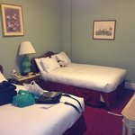 Our room with dbl beds.
