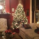 Family room was well-decorated as well