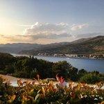 Sunset from Argosy Hotel, Dubrovnik - July 2013