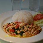 Thai food PackaKhoMoo aroy mak ...