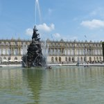 The Palace and fountains