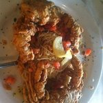 soft shell crab plate