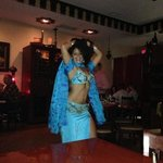 belly dancer at maroosh