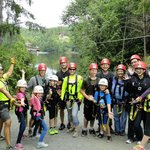 Our tour group at High Life Adventures