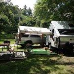 Our campsite!  :)