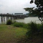 日本一長い木造橋らしい。