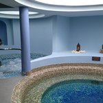 whirlpool tubs at the spa