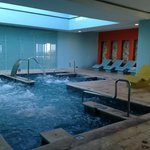 The wellness pool at the spa