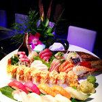 sushi sashimi combination