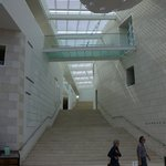 Stairway to museum