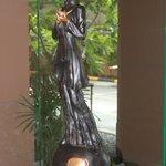 Bronze Lobby Statue