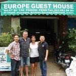 Avec Seng et son frère (adorable) en vacances ce mois d'aout