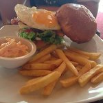 A-One cardiac arrest burger