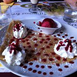 CREPE AU FRUIT ROUGES