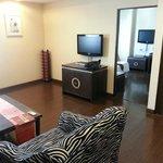 Living Area in Studio Apartment