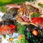 Seafoodbuffet frisch vom Fischer in Rawai