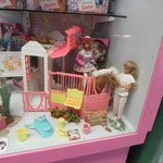 Barbie and Skipper and stables collection