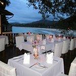 Terassenrestaurant Bella Vista direct ueber dem Meer