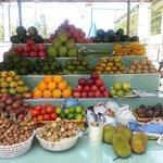 Fruit stall Mui Ne