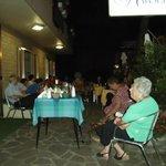 ''The Italian music night'', organized by hosts