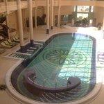 piscine couverte de la thalasso
