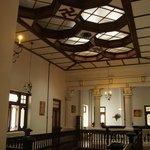 Halle im Obergeschoss