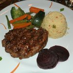Oryx-Steak with Couscous