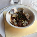 Lumache with vongole