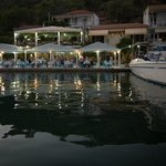 Ionian Taverna when arriving by boat :)