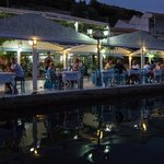 Ionian Taverna alongside the water front