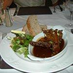 lamb ribs & bread