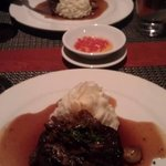 Filet Mignon with Horseradish Mashed Potatoes