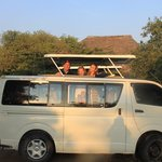 Our EAATS mini bus
