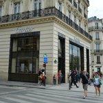 Luxusgeschäft Cartier