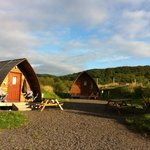 Early morning view from our wigwam