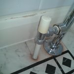 Easily fixed with a lick of paint & replaced lino
