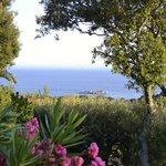Une vue exceptionnelle où nous pouvons même apercevoir la Sardaigne !