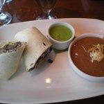 Vaca Frita Burrito